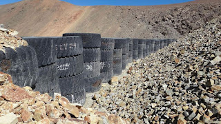 La minera chilena que armó un botadero en suelo sanjuanino, presentó finalmente este miércoles el plan de retiro de los escombros. Fiscalía de Estado tiene 5 días para revisar el plan entregado hoy a la justicia.
