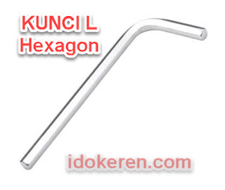 Kunci L Hexagon