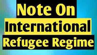 International Refugee Regime: Convention on The Status of Refugees