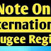 International Refugee Regime: Convention on The Status of Refugees