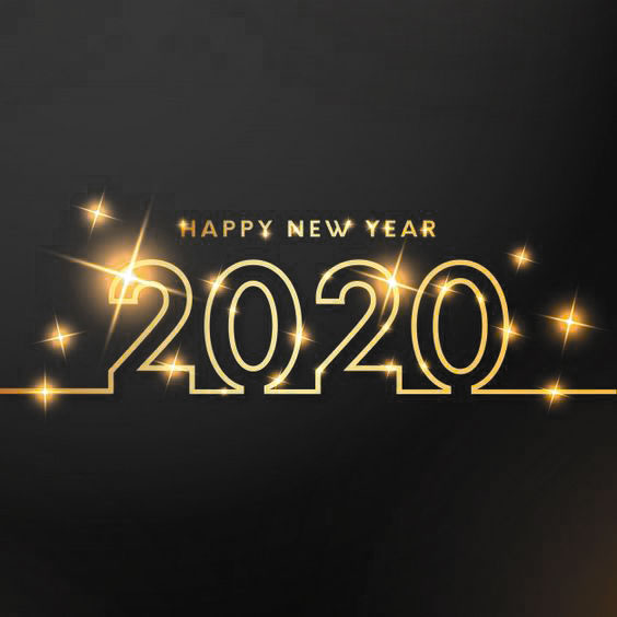 Happy New Year 2020 Whatsapp DP