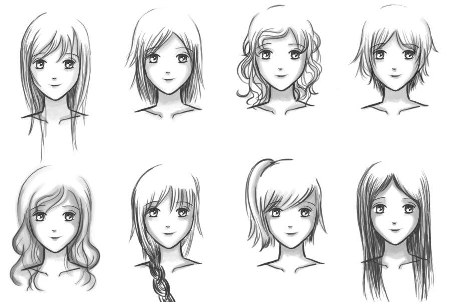 Sensational Easiest Hairstyle Anime Hairstyles Hairstyles For Men Maxibearus