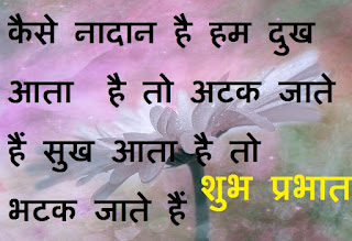meaningful good morning quotes in hindi