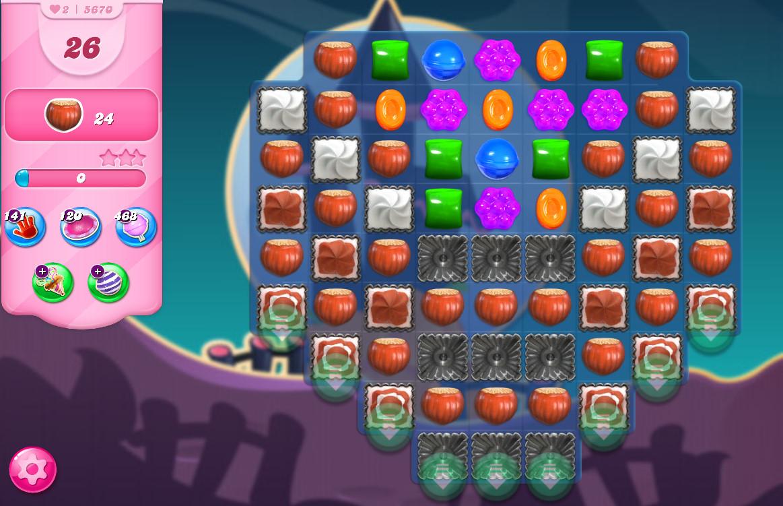Candy Crush Saga level 5670
