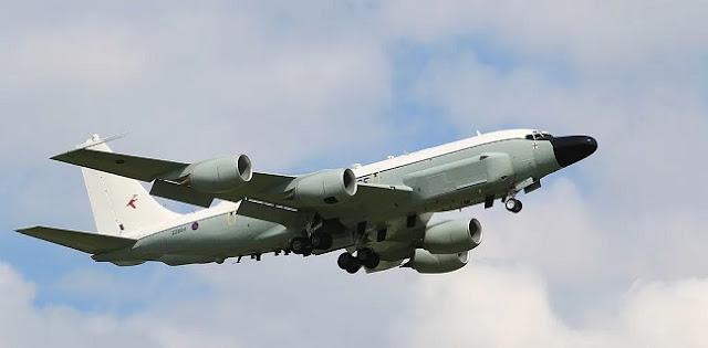 Pesawat Pengintai AS Terbang Di Langit Korea Selatan, Pantau Korea Utara?