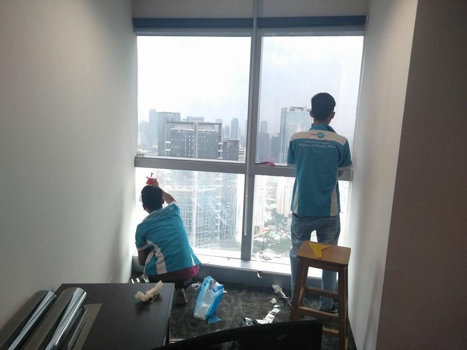 kontraktor kaca film rumah sakit di Tanah Abang Jakarta Pusat kualitas bagus!!