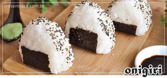 receita de onigiri