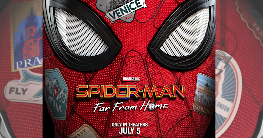 FIRST LOOK: SPIDER MAN FAR FROM HOME