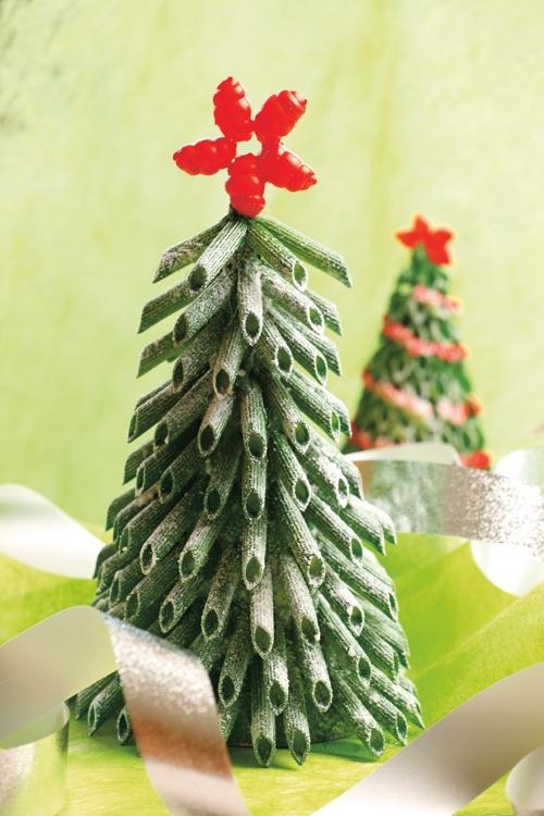 spesso Addobbi di Natale fai da te con la pasta | donneinpink magazine ZM05
