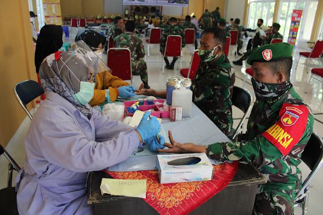Stock Darah Di Purbalingga Berkurang, Ini yang Dilakukan Prajurit TNI