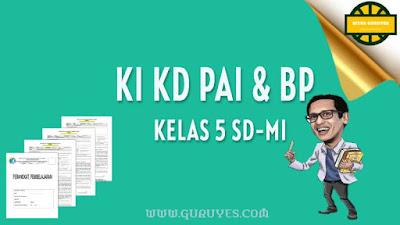 Pada kesempatan ini admin akan berbagi link download KI dan KD Pendidikan Agama Islam  Download KI dan KD PAI SD Kurikulum 2013 Kelas 5