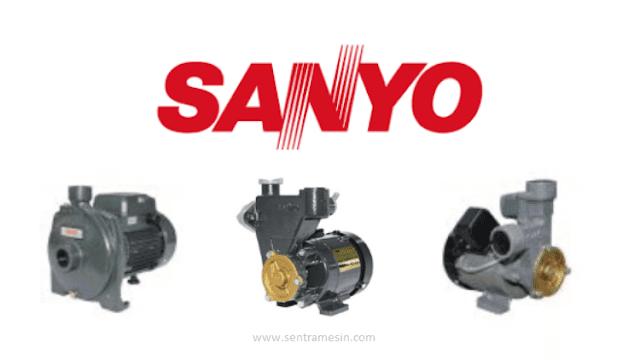 Pompa Air Sanyo Semua Model dan Harga Terbaru