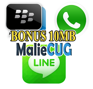 Cara Gratis BBM Line WhatsApp