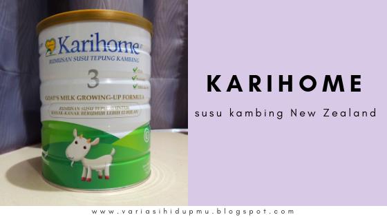 susu kambing karihome review