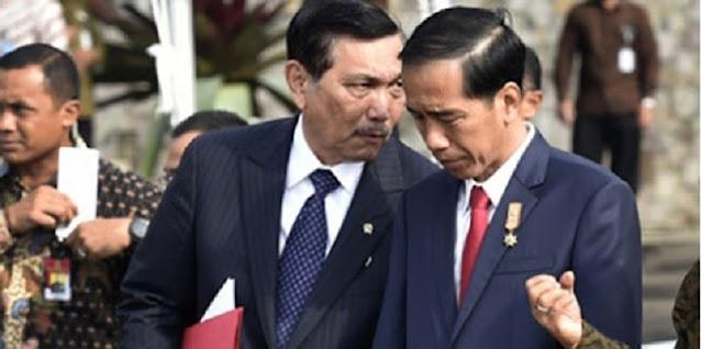Bukti Kegagalan Jokowi di Bawah Koordinasi Luhut Pandjaitan