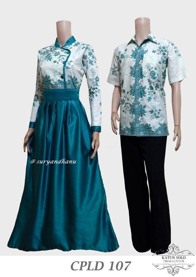 Baju Batik Couple Masa Kini Cpld 107