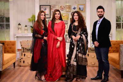 Actress Areej and Nazish Jahangir Beautiful Pictures from GMP