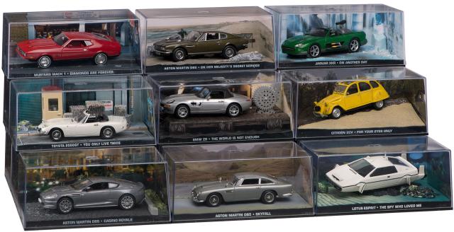 James bond collection argentina