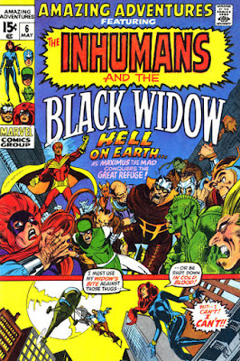 Amazing Adventures #6, the Inhumans
