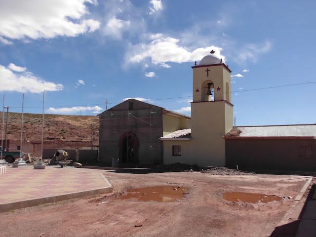 Der neue Kirchturm ist schon ein Kleinod im Dorf