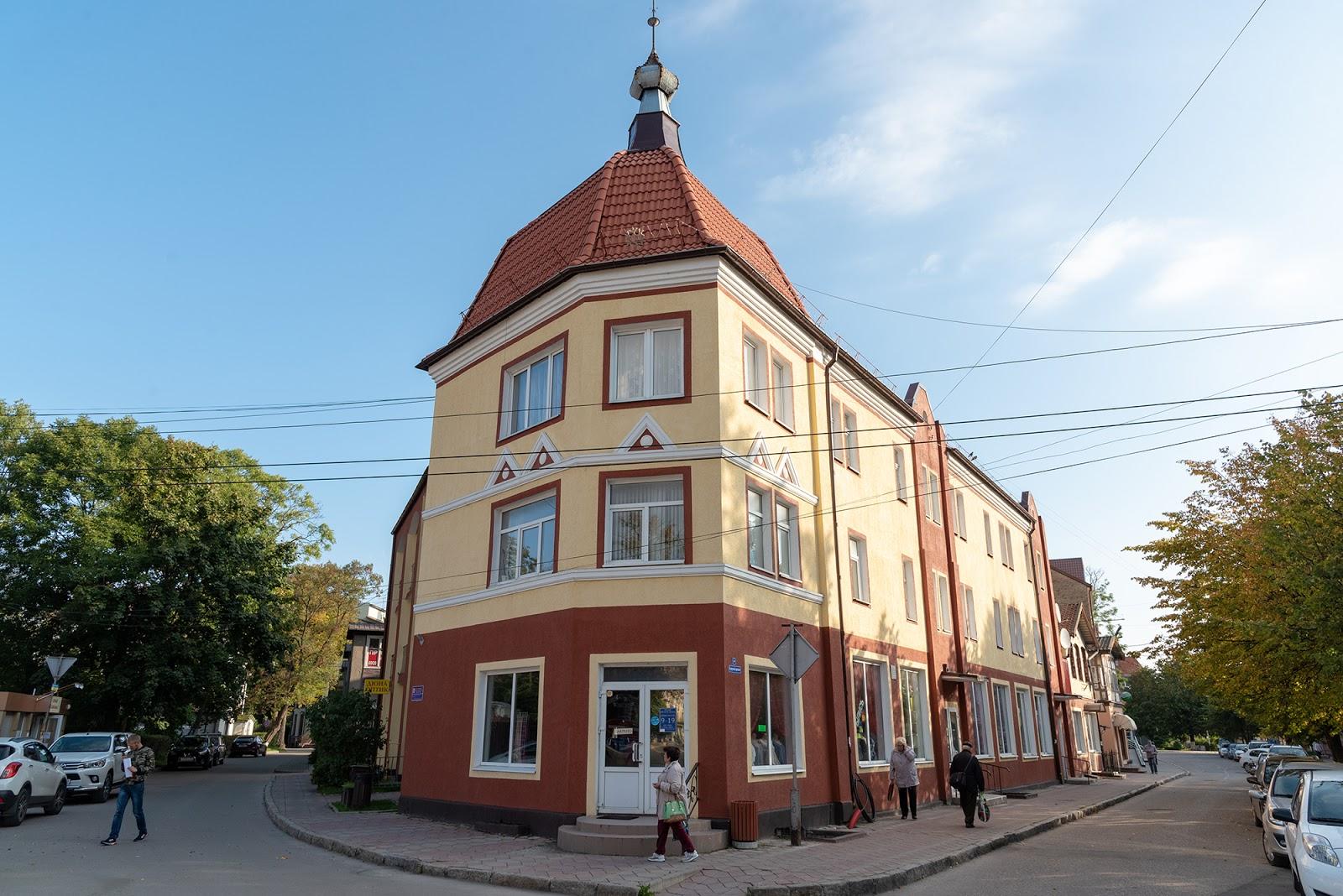 Улицы Зеленоградска