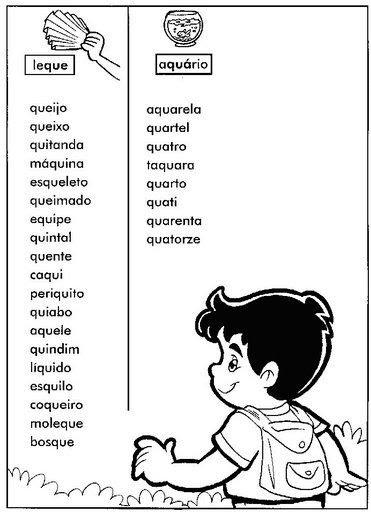Cantinho da Dezinha: Palavras para caligrafia ou ditado