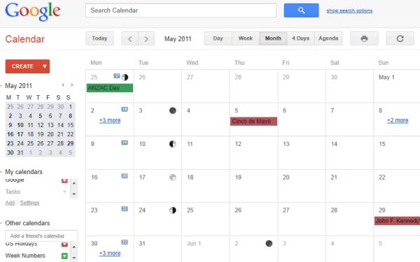 Google Calendar S Design Refresh