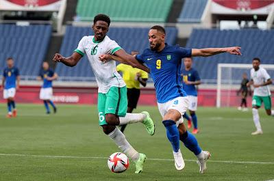 ملخص واهداف مباراة السعودية والبرازيل (1-3) اولمبياد طوكيو