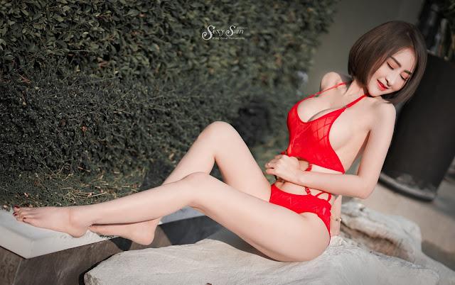 9 Foto Narumon Aouchai Model Cantik Cute Sexy Thailand