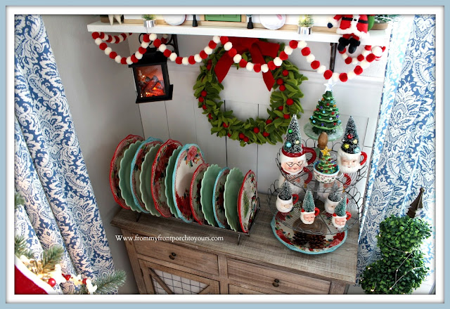 Christmas -Farmhouse -Cottage- Breakfast -Nook-Hearth & Hand Doll -House- Pioneer Woman-Dinnerware-From My Front Porch To Yours