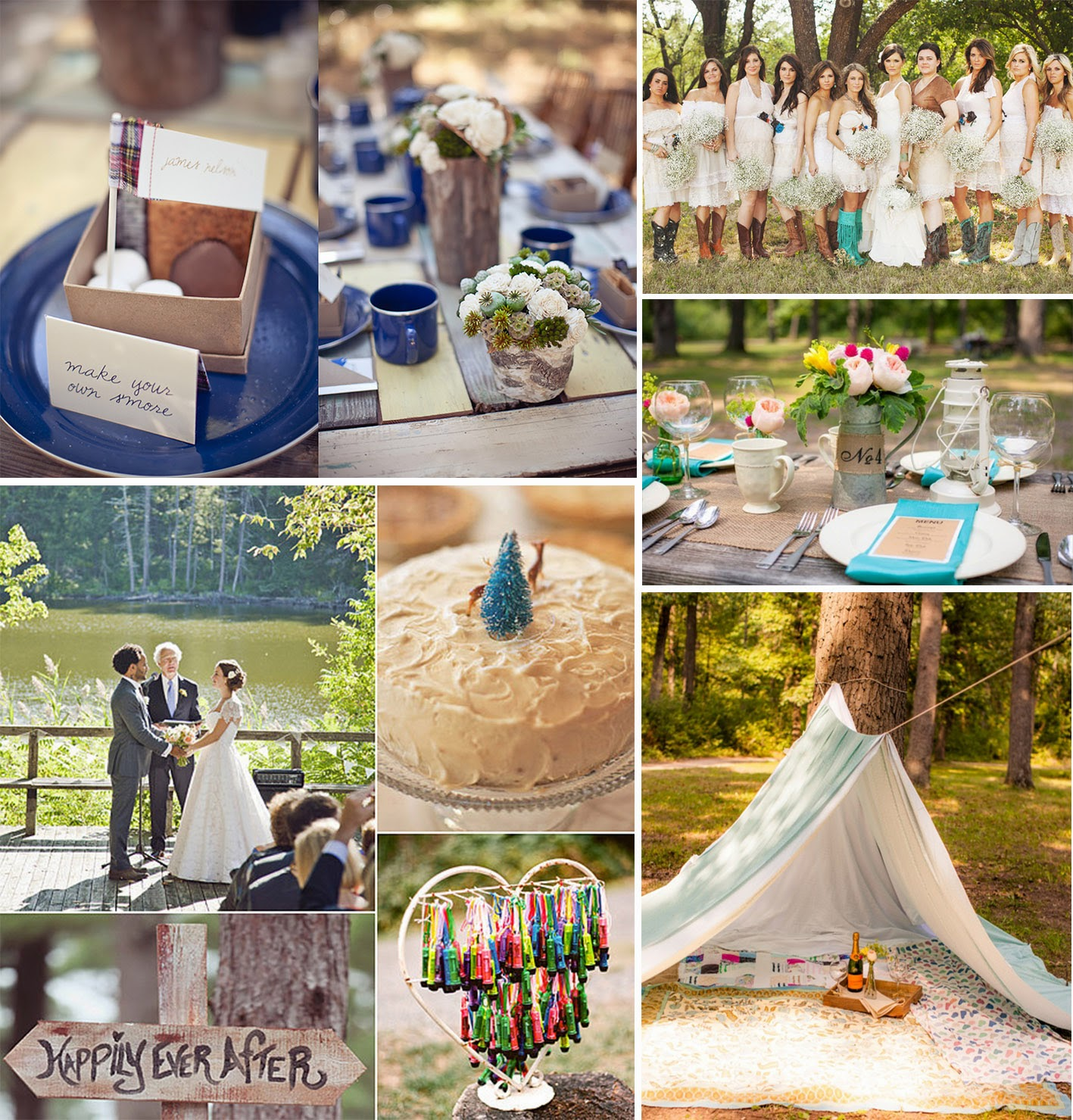 A Camp Themed Wedding Is Perfect Theme For The Who Loves Great Outdoors And Especially Ing In Woods Free Backdrop