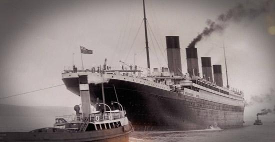 Estes são os únicos vídeos originais do Titanic antes de afundar