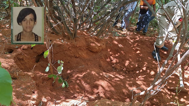 Corpo de mulher é encontrado enterrado em região de mata no Sertão