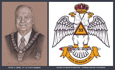 David A. Glattly, 33°. Sovereign Grand Commander. Scottish Rite, NMJ. Supreme Council. by Travis Simpkins