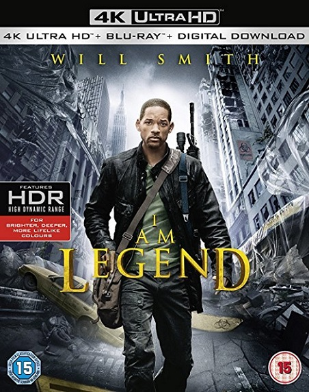 I Am Legend 4K (Soy Leyenda 4K) (2007) 2160p 4K UltraHD SDR Blu ray 21GB mkv Dual Audio Dolby TrueHD 5.1 ch