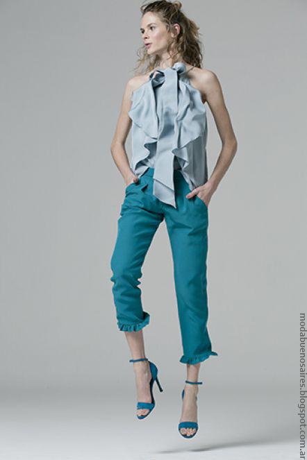 Moda primavera verano 2017 Evangelina Bomparola. Moda primavera verano 2017 túnicas.