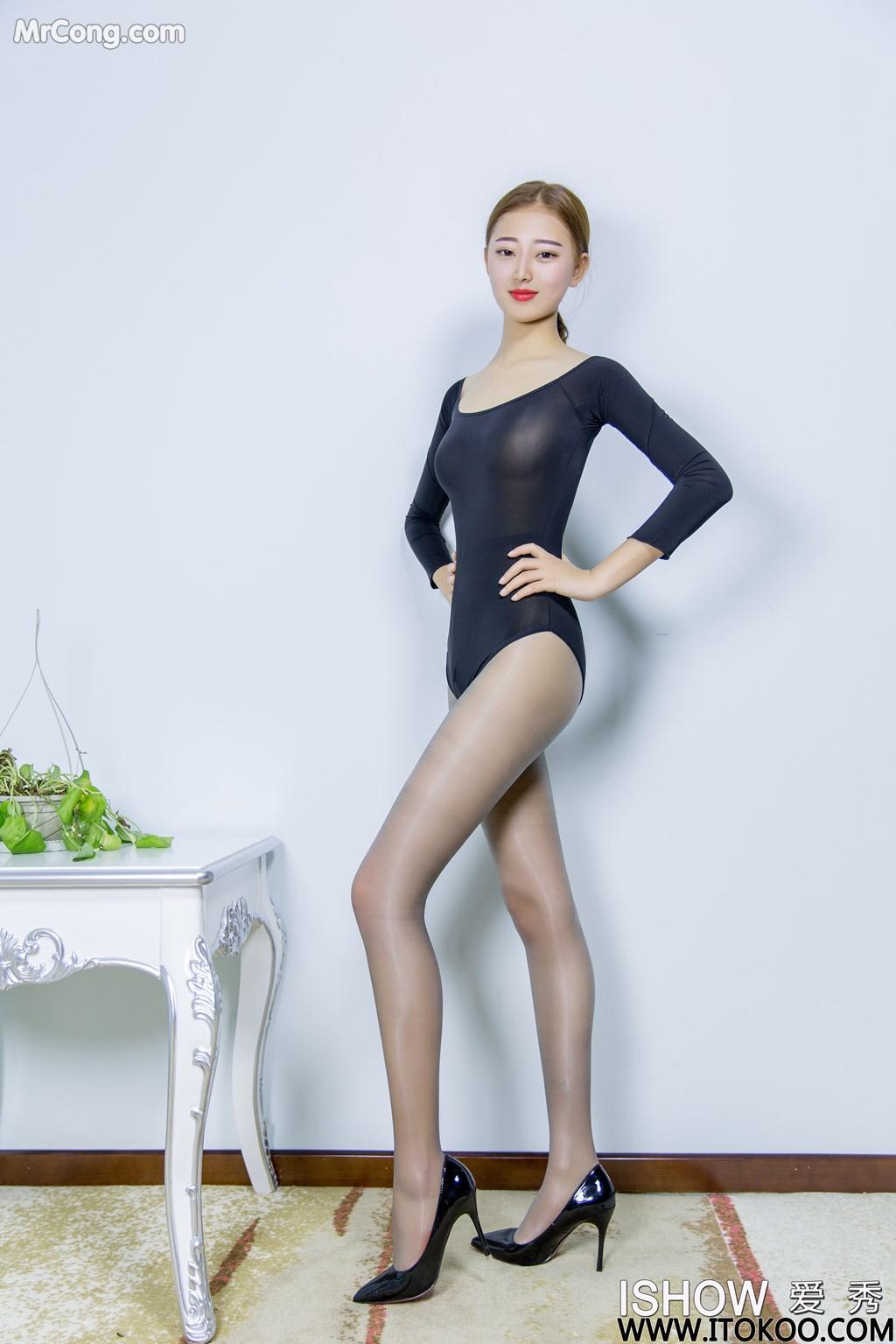 Image ISHOW-No.151-Han-Zhi-Ying-Flora-MrCong.com-002 in post ISHOW No.151: Người mẫu Han Zhi Ying (寒栀樱Flora) (31 ảnh)