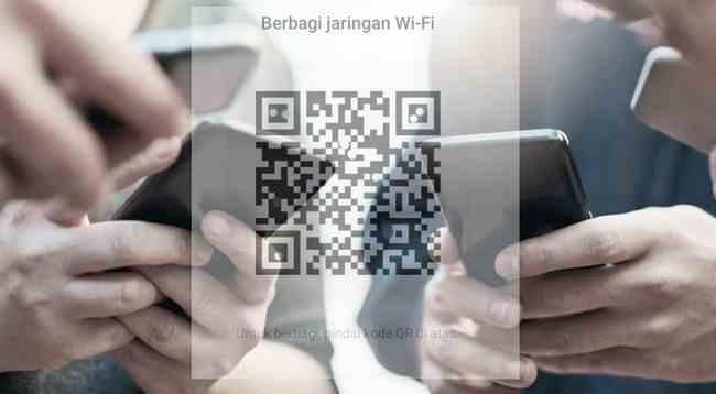 Cara Membagikan Sandi WiFi dari Ponsel Xiaomi ke HP lainnya