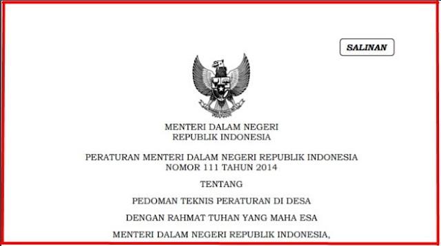 Penyusunan Peraturan Desa oleh BPD Menurut Permendagri Nomor  Penyusunan Peraturan Desa oleh BPD Menurut Permendagri Nomor 111 Tahun 2014