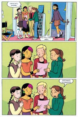 El club de las canguro de Raina Telgemeier comic novela gráfica