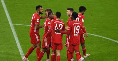 ملخص واهداف مباراة بايرن ميونخ وفرايبورج (2-2) الدوري الالماني