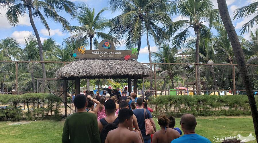 Acesso ao Aqua Park - Beach Park