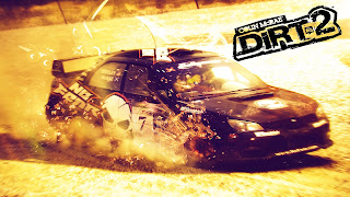Colin McRae: DiRT 2 Cover Wallpaper
