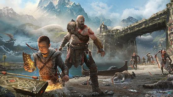 Kratos et Atreus - God of War PS4 - Full HD 1080p