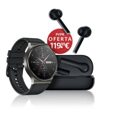 Huawei Watch GT 2 Pro e Huawei FreeBuds Pro disponíveis para pré-compra em Portugal