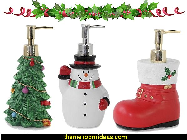 Christmas Tree Soap Dispenser Christmas Shoes Soap Dispenser Christmas Snowman Soap Dispenser