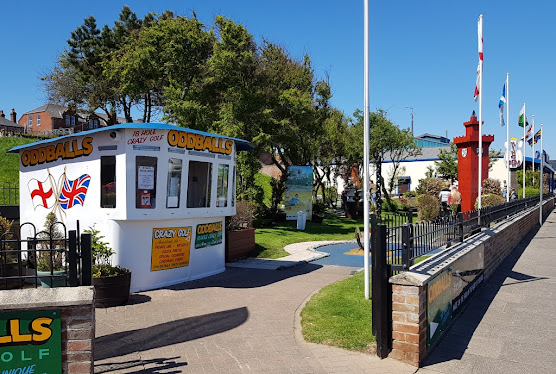 Oddballs Crazy Golf course in Cleethorpes, Lincolnshire
