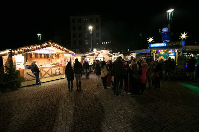 Mercatino di Natale a Postplatz-Dresda