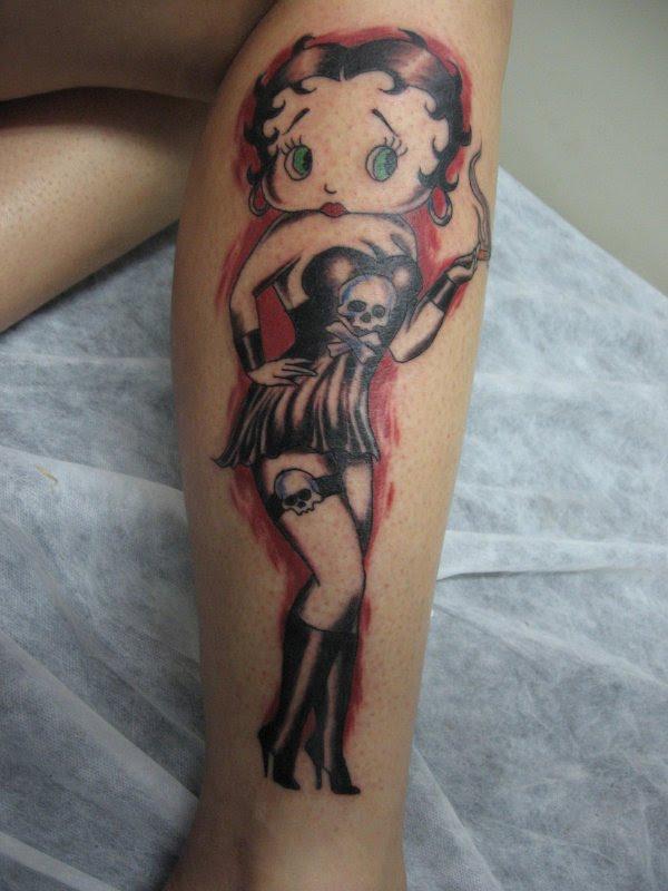 betty boop tattoos
