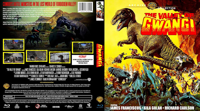 The Valley of Gwangi Bluray Cover